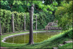 Dumbarton Oaks Gardens: Lovers' Lane Pool