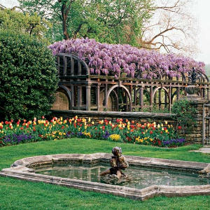Dumbarton Oaks Gardens: The Fountain Terrace