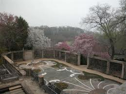 Dumbarton Oaks Gardens: The Pebble Garden